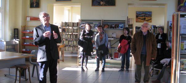 Exposition bibliothèque Saint-Aubin-sur-Mer