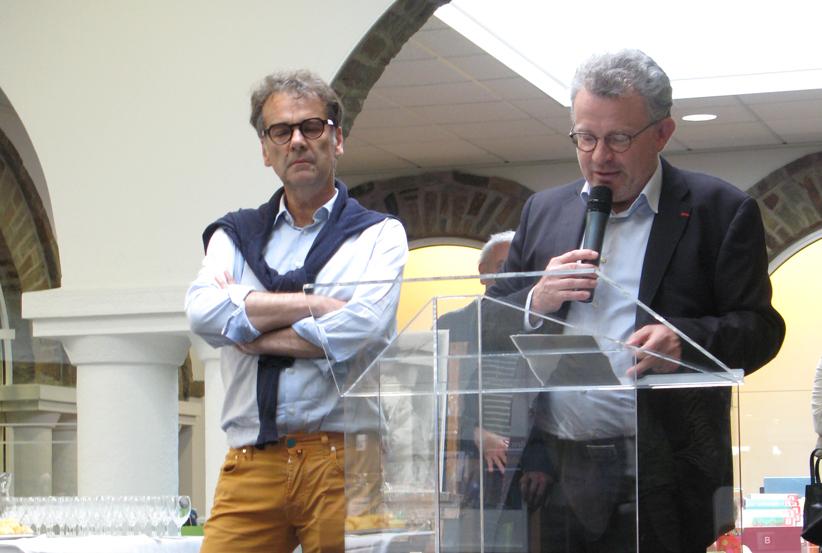 Éric Lefèvre et Pascal Allizard