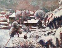 DRIES Honfleur-paysage-sous-la-neige
