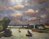 DRIES Le-port-de-Honfleur