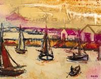 DRIES Barques-dans-l-avant-port