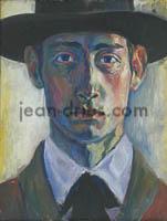 DRIES Autoportrait-au-chapeau-noir