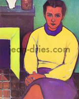 DRIES Henriette-au-chandail-jaune