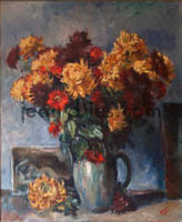 DRIES Chrysanthemes-et-zinnias