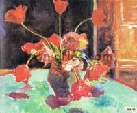 DRIES Tulipes-sur-la-table-verte