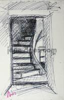 DRIES Escalier-interieur